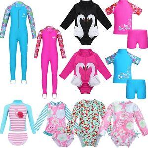Kids Boys Swimsuit UV 50 Sun safe Bathing Surf Swimming Costume 2pcs