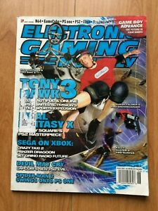 VINTAGE EGM MAGAZINE #143 June 2001 Tony Hawk 3, Final Fantasy X, Spiderman 2