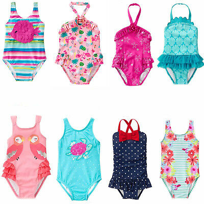 22be5e557 Gymboree Baby Toddler Girl 1pc Swimsuit Mailot 6 12 18 24 2T 3T 4T 5T NWT  Retail | eBay