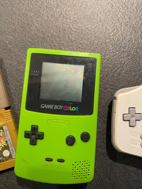 Nintendo Game Boy Color, God, Det ene spil er mardio  BYD