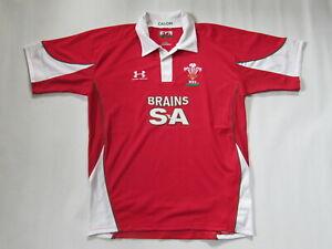 Wales Under Armour Herren Rugby Trikot Gr. L Shirt Jersey