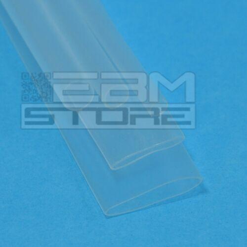 DZ01 1 mt guaina TRASPARENTE Ø=3,2 mm termoretraibile termorestringente ART