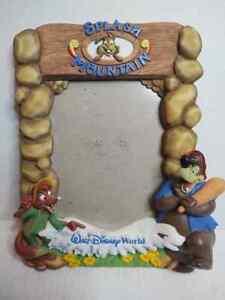 3D-RARE-Walt-Disney-World-SPLASH-MOUNTAIN-Brer-Rabbit-BEAR-Fox-PICTURE-FRAME