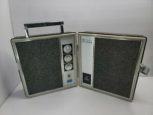 GE Model 8614A General Electric 8-Track Player Suitcase FOR PARTS ONLY