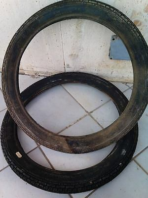 N°1 Copertone Pneumatico 2 1/4-17moped 2x2.25 Gomma Ciclomotori Piaggio Boxer Crease-Resistenza