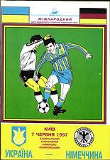 WM-Qualifikation 07.06.1997 Ukraine - Deutschland in Kiew - Edition B