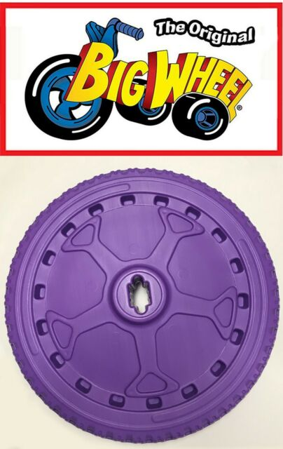 """PURPLE FRONT WHEEL 16/"""" Replacement Part for The Original Big Wheel"""