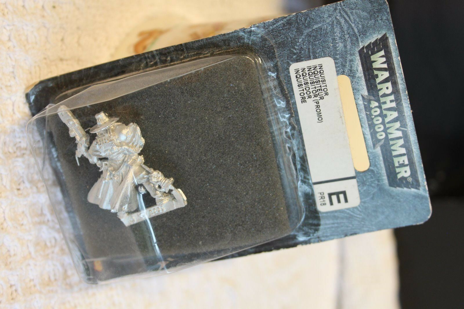 Inquisitor Gideon Lorr - PR18 - Limited Edition OOP