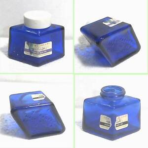 Parker ink bottle 2oz cobalt blue (empty/full) Select extras B25