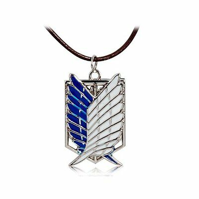 NEW Attack on Titan Wings of Freedom Pendant Necklace Cosplay Anime Cute Gift