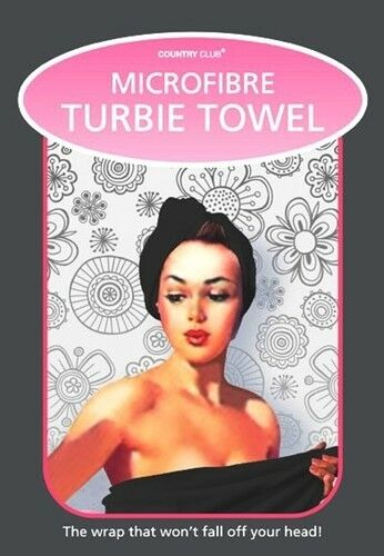 Microfiber Turbie Towel Twist Hair Drying Wrap Soft Turban Bath Cap Hat One size