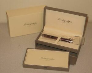 Montegrappa-1912-Espressione-RB-Dark-Brown-ISEPCRAW-Ballpoint-Pen-w-Case