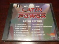 LATIN POWER KARAOKE VCD DVD VCLP-001 LATIN EXITOS SEALED