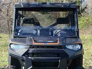 New Super Atv Polaris Ranger Xp 570 900 Half Windshield Hws P Ran900 71 Ebay