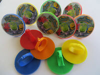 12 Chuggington Rings Cupcake Toppers - Birthday Party Favor Cake Pinata Toys