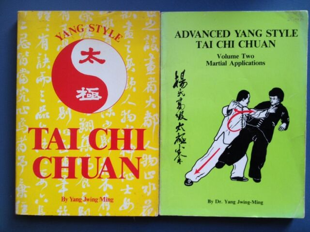 Yang Style Tai Chi Set of 2 Original 1st Edition Dr. Yang Manuals Tai Chi Chuan