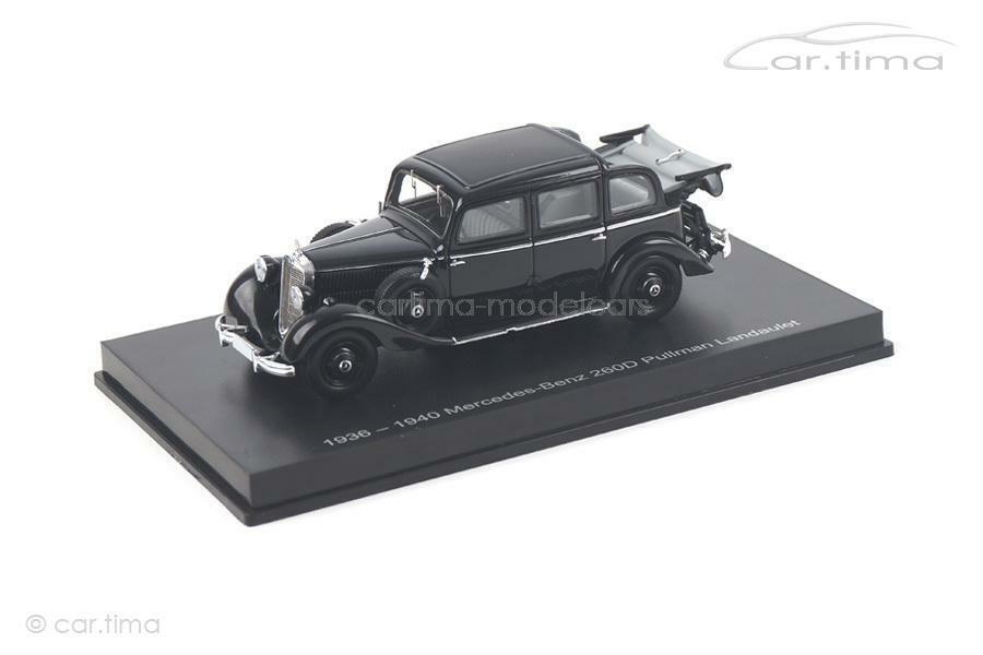 Mercedes-Benz 260D Pullman Landaulet 1936 - schwarz - 1 of 500 - Esval Models -