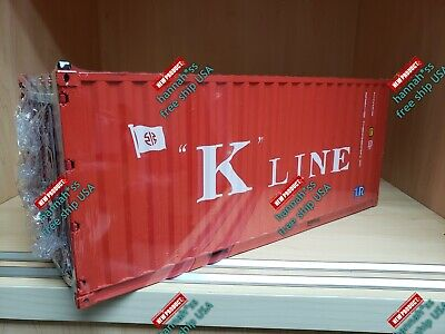 1:20 DHL Express Transport Cargo Shipping Container Model
