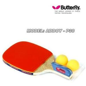 Butterfly] Table Tennis Racket Paddle Penholder Hand Grip Ping ...