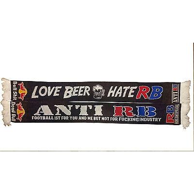 ANTI RB FANSCHAL FAN SCHAL FAN SCARF - LOVE BEER --- HATE RB