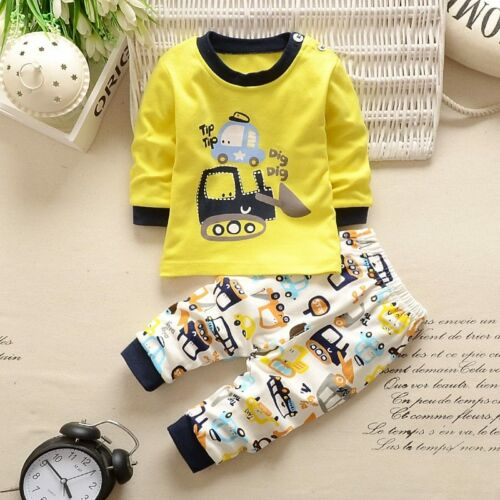 2019 Baby Boys Clothes Newborn Baby Girls Cartoon Clothing Autumn Winter