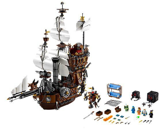 Lego 70810 Metal Beard's Sea Cow