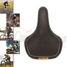 VELO Plush Black PU Leather Bicycle Seat Mountain Bike MTB Memory Foam Saddle