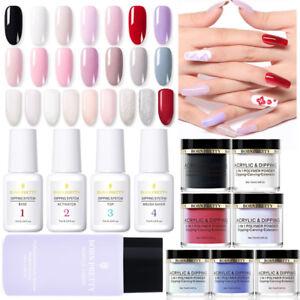 BORN-PRETTY-10ml-3-IN-1-Acrylic-Dipping-Powder-Nails-Dip-System-Liquid-NO-UV-Kit