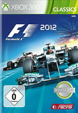 F1 2012 -- Classics (Microsoft Xbox 360, 2014, DVD-box)