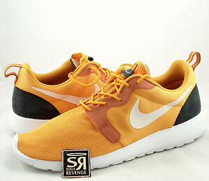 separation shoes 1e63f 01dbd Image is loading NEW-10-5-Nike-Roshe-Run-Hyperfuse-Kumquat-