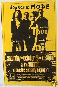 Depeche Mode San Diego Tour Date