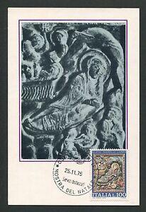 ITALIA-MK-1975-NATALE-WEIHNACHTEN-CHRISTMAS-MAXIMUMKARTE-MAXIMUM-CARD-MC-d2986