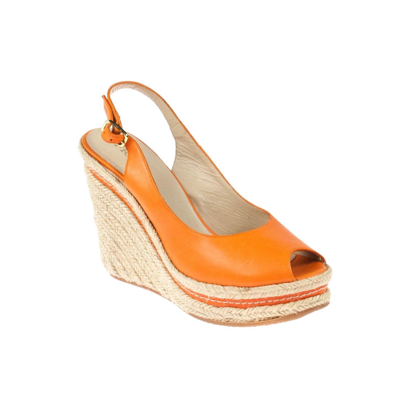low priced 3e9c0 5fea2 Frida Donna zeppa zeppa zeppa sandali zeppe in pelle ...