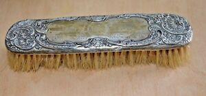 Antique-or-vintage-sterling-silver-brush