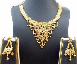 indian wedding 22k gold plated 8'' long short bridal net
