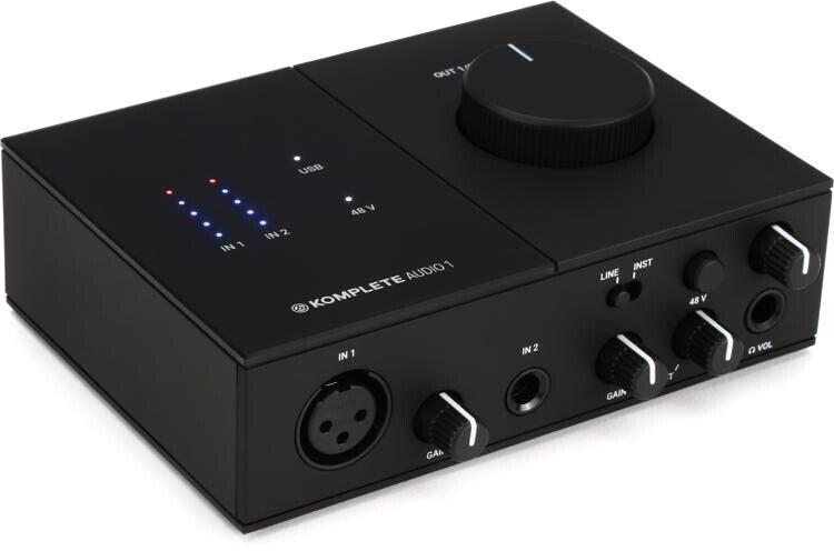 Mikrofon, arm og lydkort, Audio-Technica
