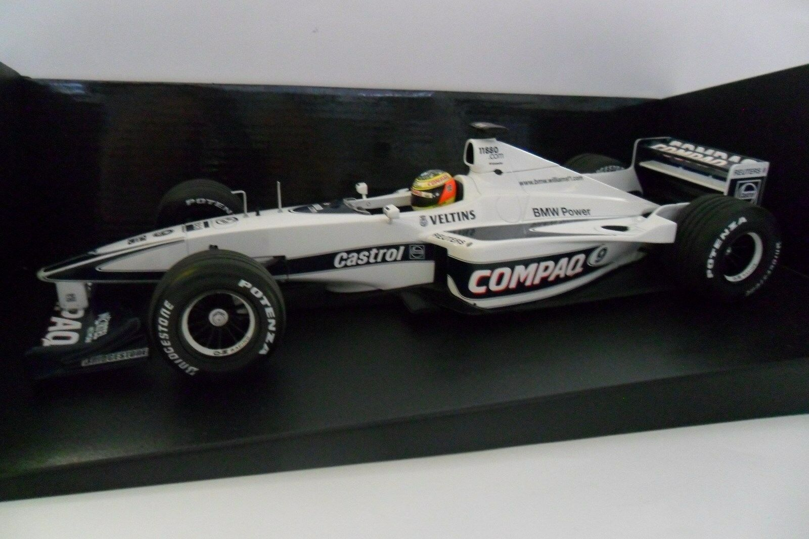 MINICHAMPS 1 18 F1 WILLIAMS BMW FW 22 RALF SCHUMACHER 2000  ART 180 000029