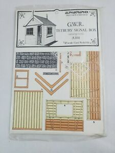Alphagraphix-GWR-Tetbury-Signal-Box-A104-1-43-Scale-Model-Kit-NEW