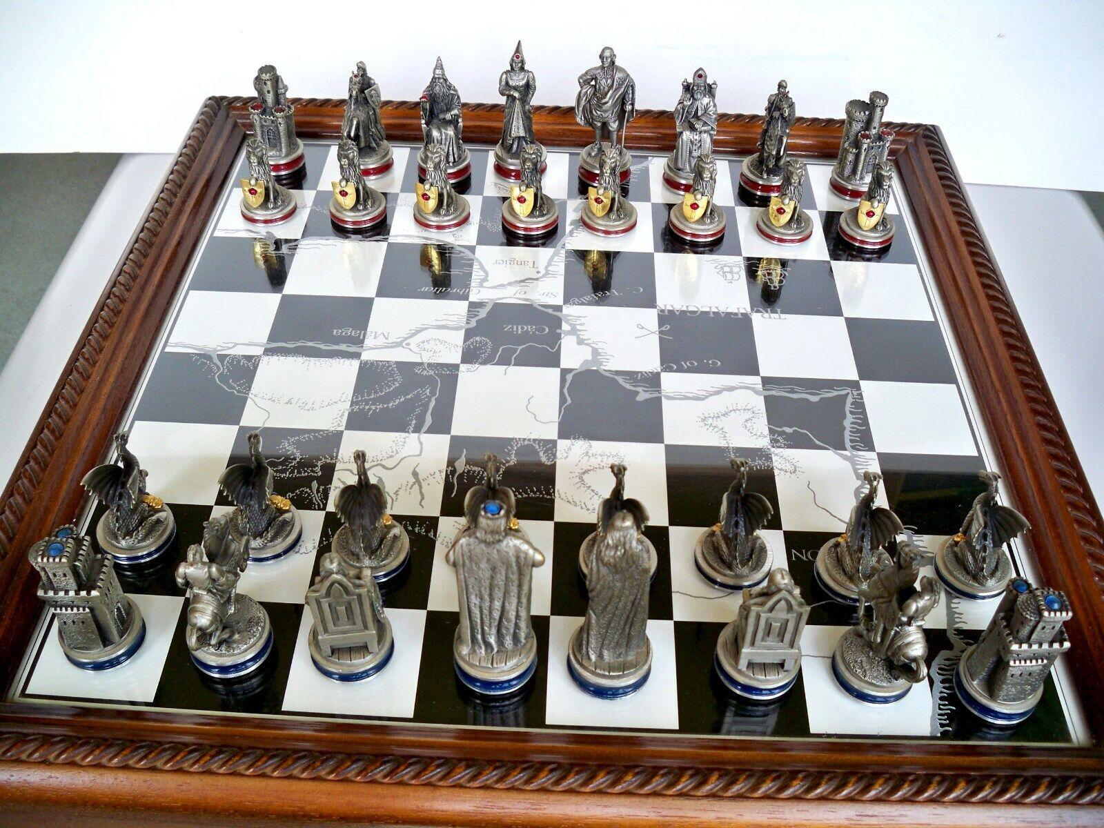 Schachspiel - Die Ritter derTafelrunde (01)