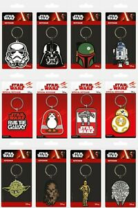 Star Wars Rubber Keychain Keyring * OFFICIALLY LICENSED ITEM - FAST UK DISPATCH*