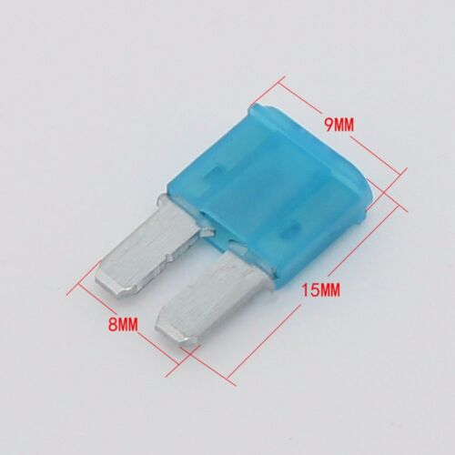 10x KFZ Auto Sicherungshalter Micro2 Flachsicherung Halter Wasserdicht 15A