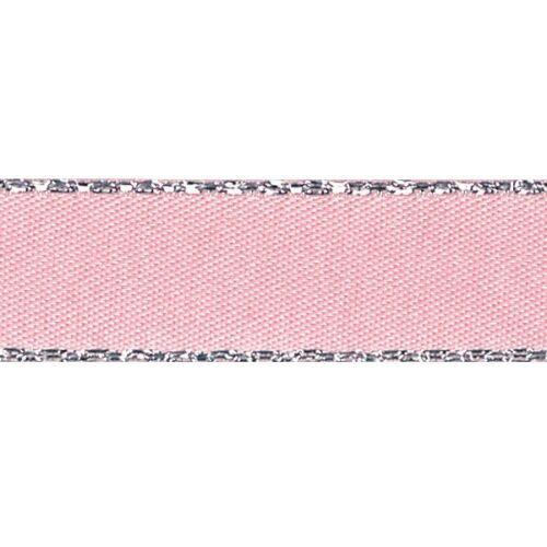 5m ou 20m bord Métallique Berisfords Polyester Satin Ruban de Craft De 7mm x 2m