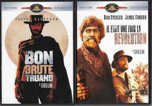 Lot de 2 DVD - Le bon la brute et le truand - Il était une fois la révolution