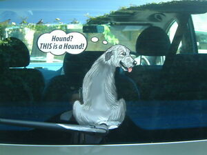 WOLFHOUND-LOVER-DOG-CAR-STICKER-NOVELTY-GIFT-COLLECTABLE-WITH-WIPER-WAGGING-TAIL