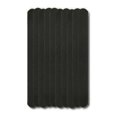 Nail Art Sanding File Buffer For Salon Manicure UV Gel Polisher Tool 10PCS Black