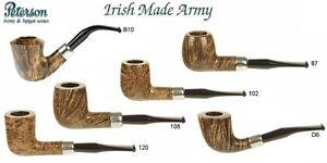 PFEIFE PIPES PIPE PETERSON OF DUBLIN IRISH MADE ARMY ORIGINALE TUTTI I MODELLI