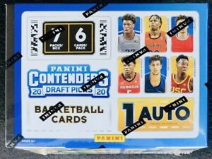 2020-21-Panini-Contenders-Draft-Picks-Basketball-Blaster-Box-Sealed-ROOKIE-Auto