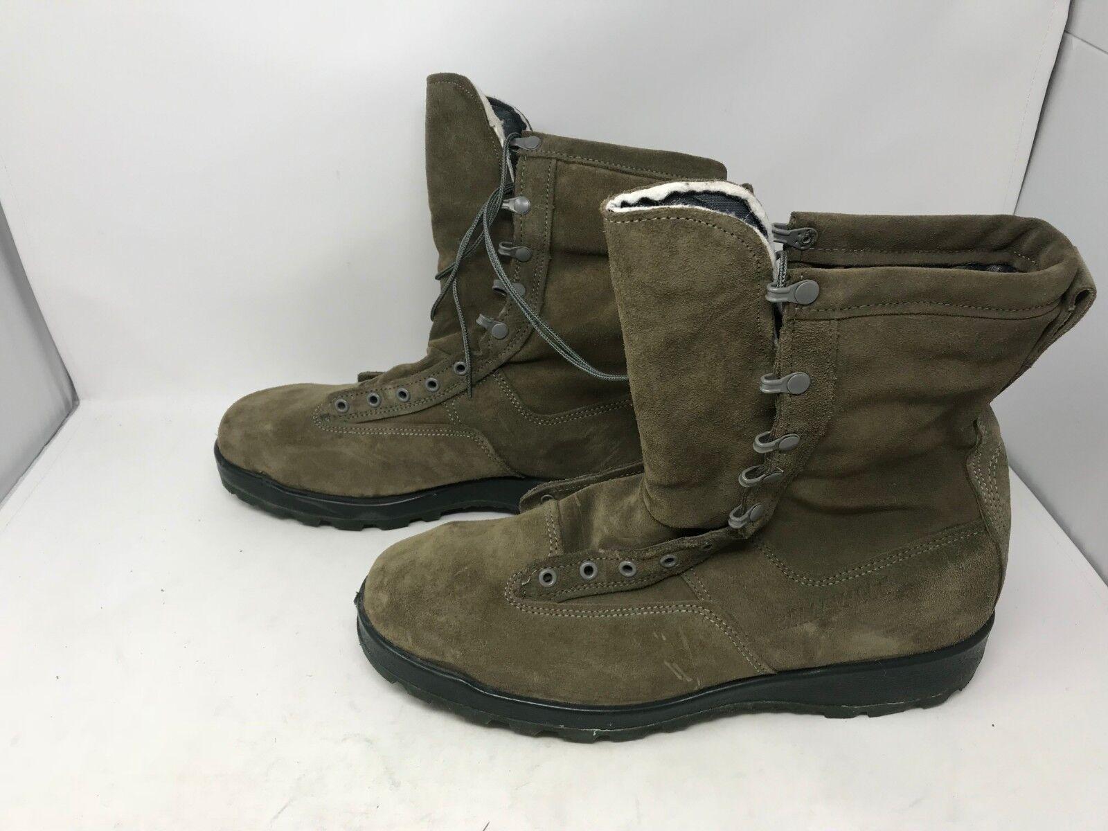Mens (675ST) Belleville (675ST) Mens Wides Waterproof Steel Toe Boots (2M) 0e1bb0