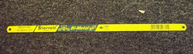 """L.S. Starrett Bs1224-bgt 1/2"""" x .025"""" x 12 bi metal hack saw blade BGT 12 inch"""