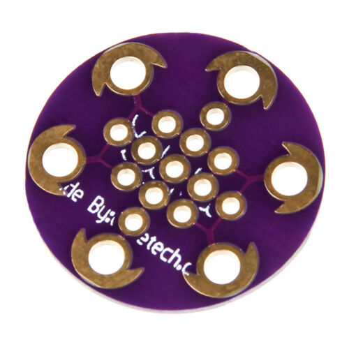 LilyPad Protoboard Small prototyping compatible with Arduino Lilypad